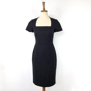 Banana Republic black short sleeve dress Size 2
